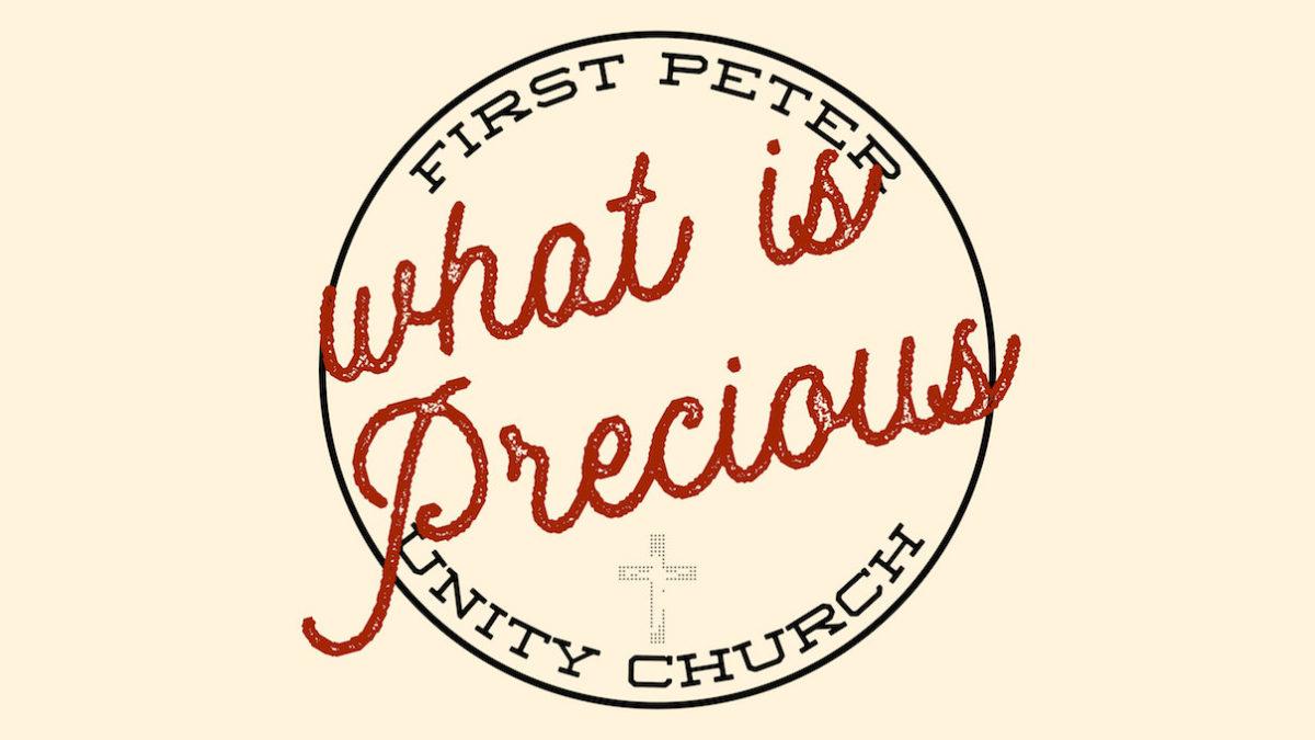 1st Peter Sermon Series Slide Precious Proven Faith