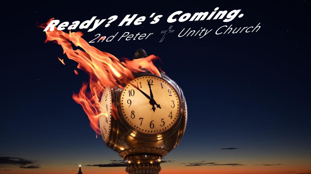 2nd Peter Sermon Series Slide Yearning Not Earning
