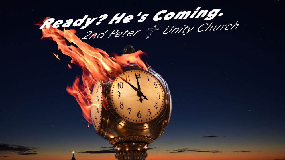 2nd Peter Sermon Series Slide Something More Sure the Prophetic Word